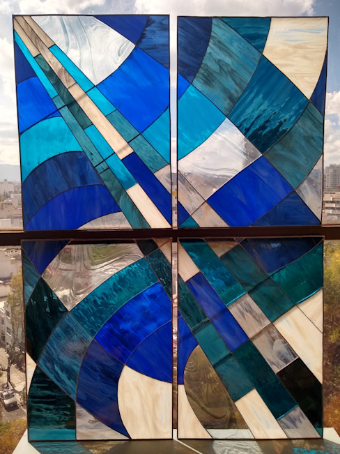 Vitral para plafond de MKVidrio Moderno Vidrio