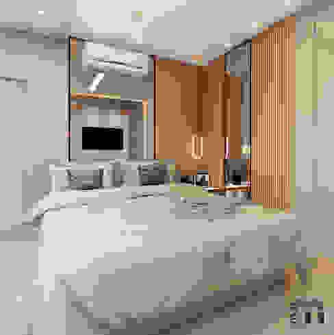 Suíte Quartos modernos por MJR Arquitetura e Engenharia Moderno MDF