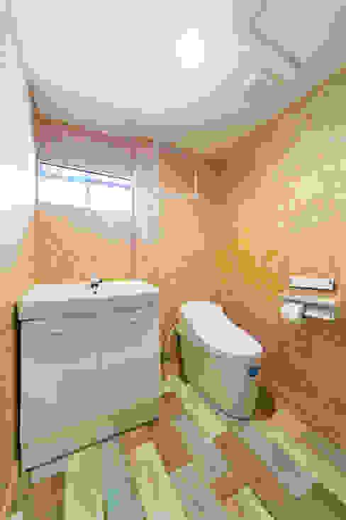トイレ 軽井沢別荘建築 ベストプランニング オリジナルスタイルの お風呂