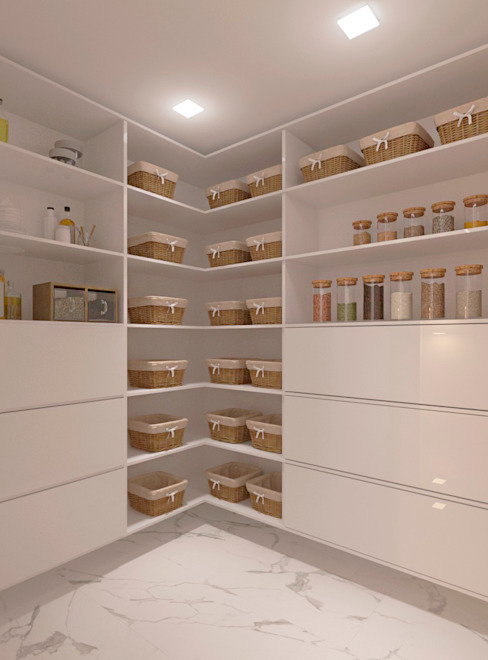 Diseño para apartamento Diaf design Closets de estilo moderno