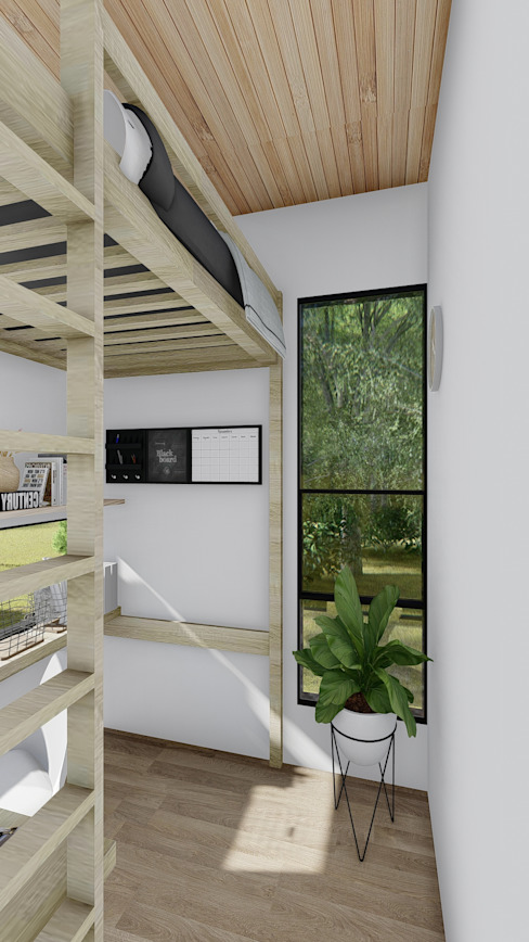 minimalist  by Estudio Arquitectura y construccion PR/ Remodelaciones y Diseño de interiores / Santiago, Rancagua y Viña del mar, Minimalist