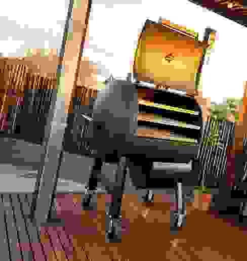 Smoke Kit BBQ Built-in kitchens Iron/Steel Black