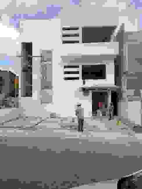 Colocación de cancelería de Lynder Constructora e Inmobiliaria Moderno
