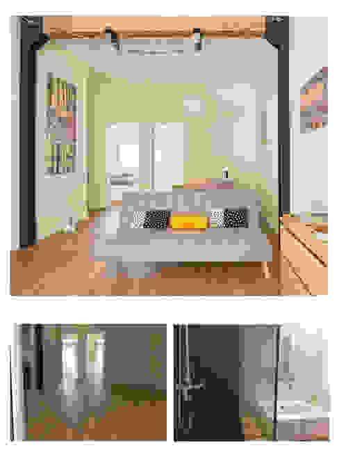 Sala final Salas de estar modernas por CSR Moderno