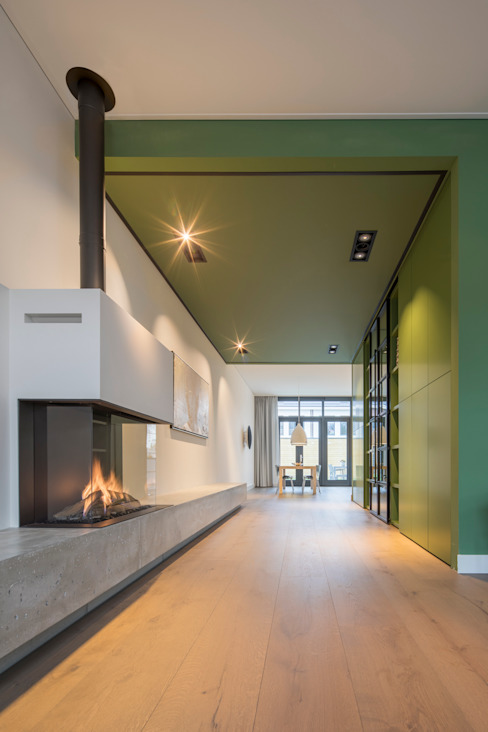 Gashaard ÈMCÉ interior architecture Moderne woonkamers