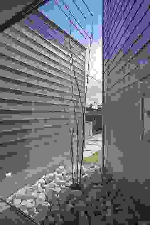 坪庭 空間建築-傳 枯山水 金属 灰色