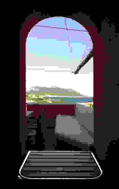 Architetto Alessandro spano Classic style balcony, veranda & terrace