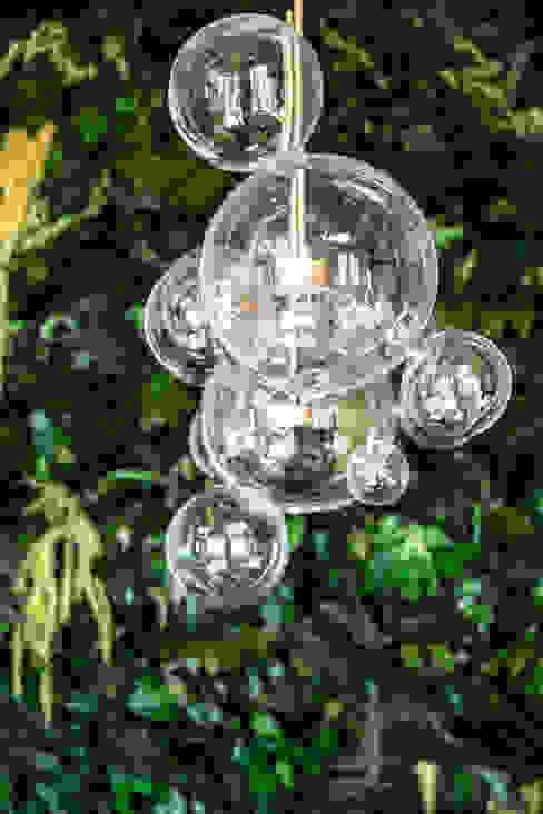 Jungle Trend MM STUDIO - INTERIORS BERLIN Tropische Esszimmer Glas Grün