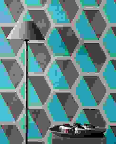 Carta da parati degli anni 70 Eclectic style walls & floors