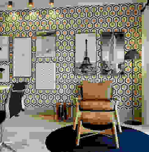 VIVIANA GONÇALVES ARQUITETURA Estudios y despachos de estilo moderno