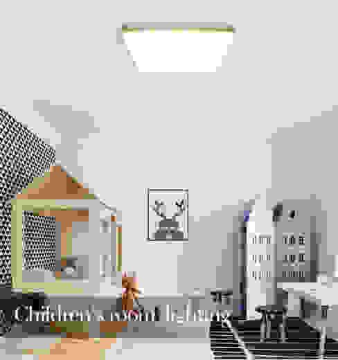 LED Panel Light in Children Room Harold Electrical Small bedroom Aluminium/Zinc White