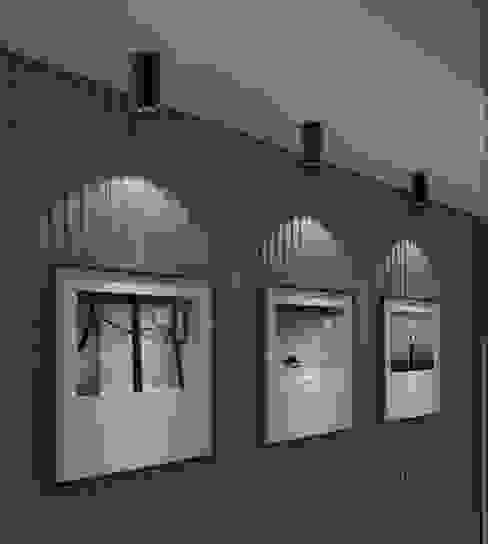 Surface Mounted Downlight COB Light In Hallway Harold Electrical Modern corridor, hallway & stairs Aluminium/Zinc Black