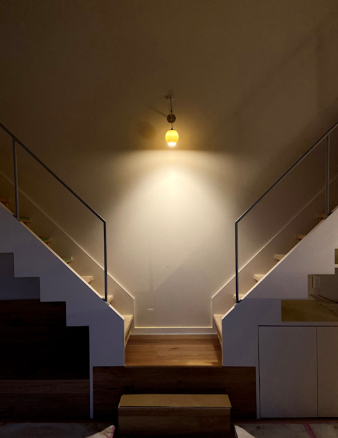House in Mutsuzaki Mimasis Design/ミメイシス デザイン 階段