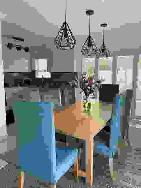 Full Home Renovation During Lockdown CS DESIGN Modern dining room