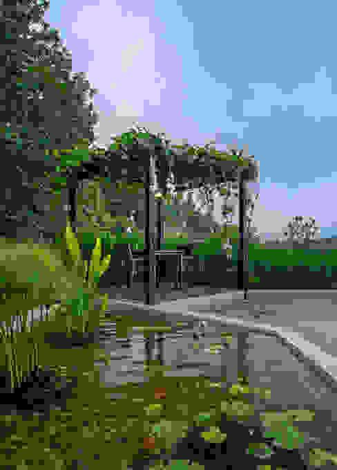 Vistaara county jyaamiti architectural studio Minimalist style garden