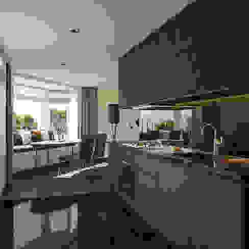 Kitchen | Keuken Romain Dossou Interiors Inbouwkeukens Zwart