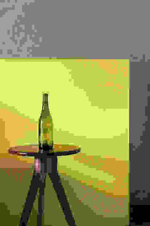 Redefining furniture Saniya Nahar Designs 小臥室 MDF Yellow