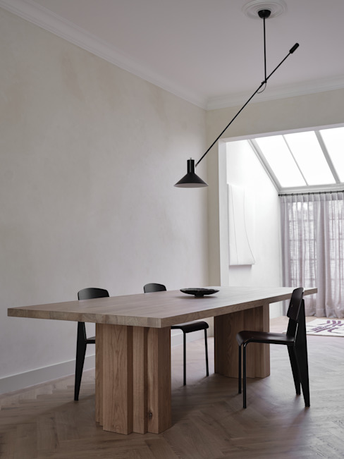 Mokko Modern dining room Wood Beige