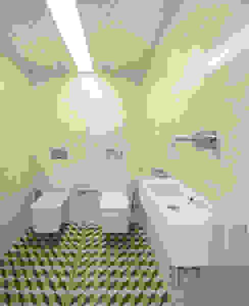Torneiras Flow e Acessórios Deep da Water Evolution Casas de banho modernas por Padimat Design+Technic Moderno Cerâmica