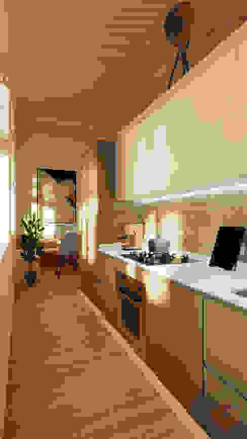Cucina Cucina moderna di Idea Design Factory Moderno