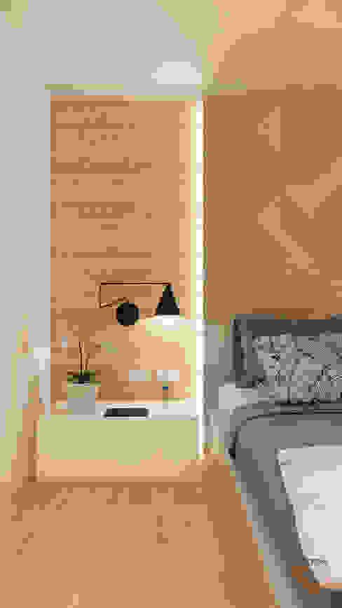 Camera matrimoniale Camera da letto moderna di Idea Design Factory Moderno