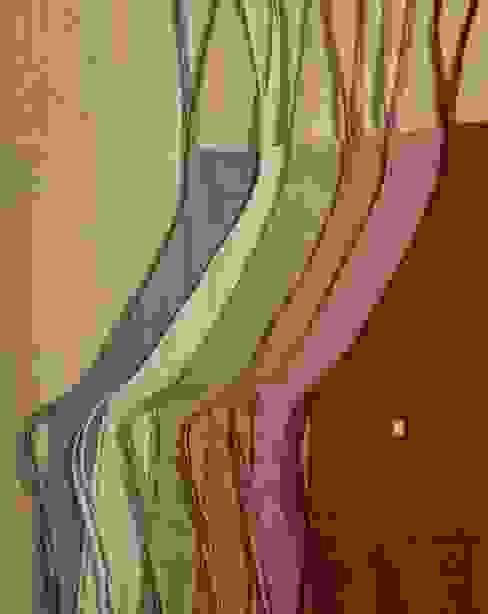 Cocinas con color de Kave Home Rural Textil Ámbar/Dorado