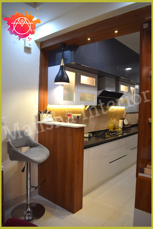 Modular Kitchen! Modern kitchen by Mansha Interior Modern