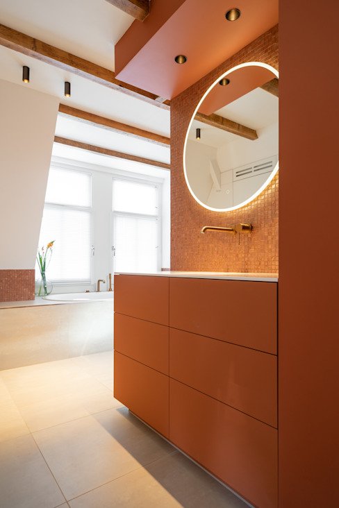 wastafelmeubel Moderne badkamers van ÈMCÉ interior architecture Modern