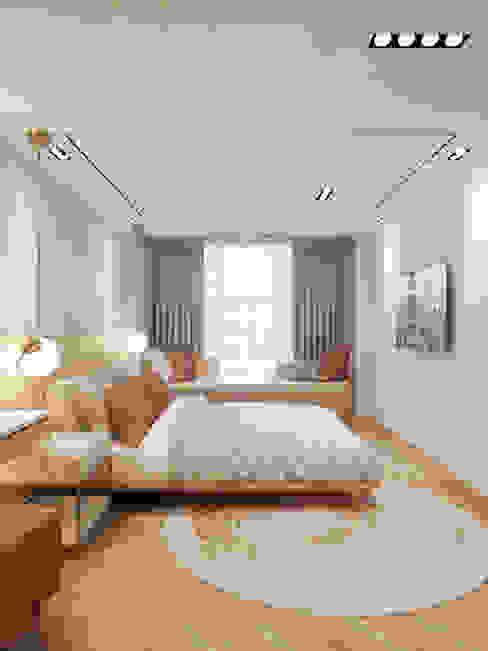 Modular studio apartment Oleh Contempo Design Studio