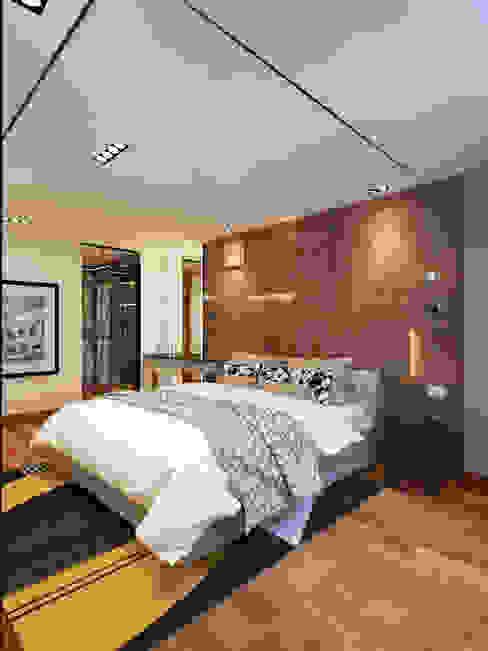 Modular studio apartment-Industrial modern Oleh Contempo Design Studio