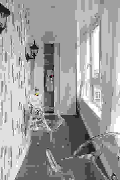 Дизайн-проект двухкомнатной квартиры площадью 52,8 кв.м Ванная комната в стиле модерн от ARTWAY центр профессиональных дизайнеров и строителей Модерн
