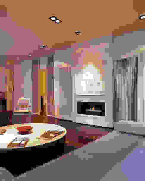 Appartamento ai Parioli Art Seu - Restauri edili Soggiorno moderno