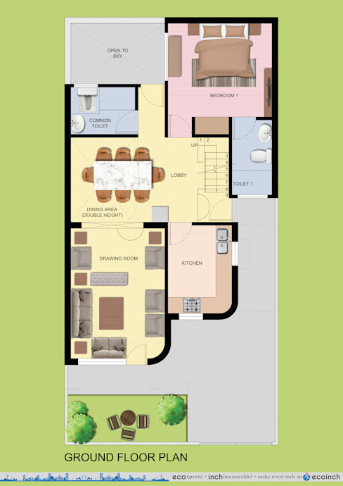 Ecoinch Services Private Limited Rumah Modern