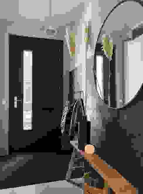 Slate Grey Marrakech Walls Huizedop Pure & Original Moderne gangen, hallen & trappenhuizen Grijs