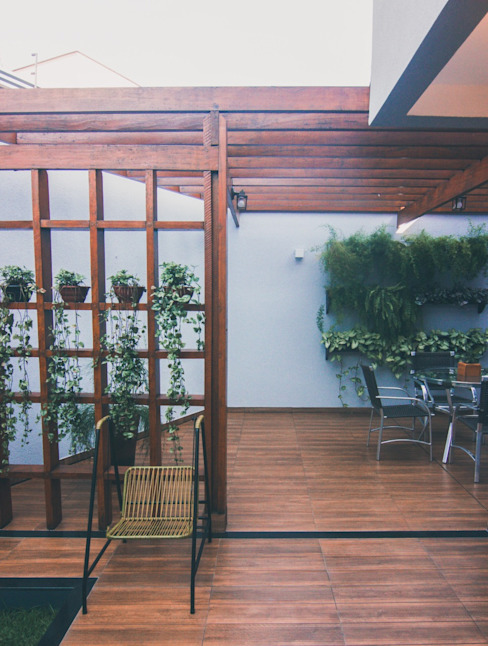 Projeto MAR HPaleari Arquitetura Jardins zen Madeira Cinza