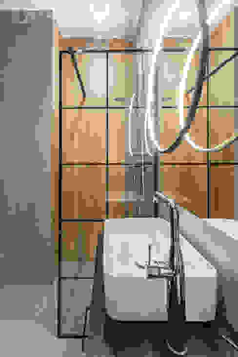 Pracownia Architektury Wnętrz Decoroom Eclectic style bathroom