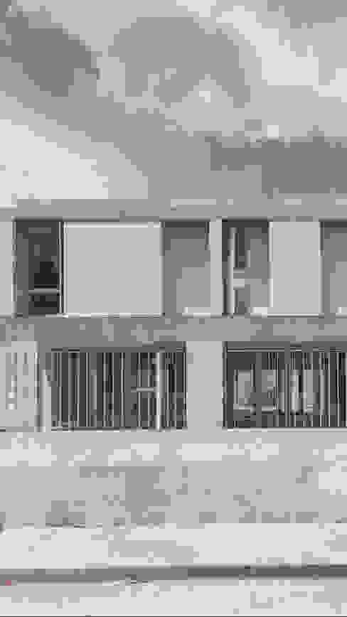 Fachada Casa R Plantea Estudio Casas unifamilares