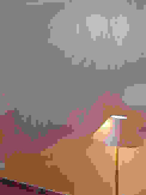 Lampada Decorata con la stessa Finitura e colore della parete Ma.Ni. Ristrutturazioni CasaAccessori & Decorazioni Beige