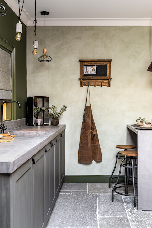 Pure & Original Eclectic style kitchen