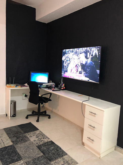 Zoraida Zapata / Diseño Interior Modern Study Room and Home Office