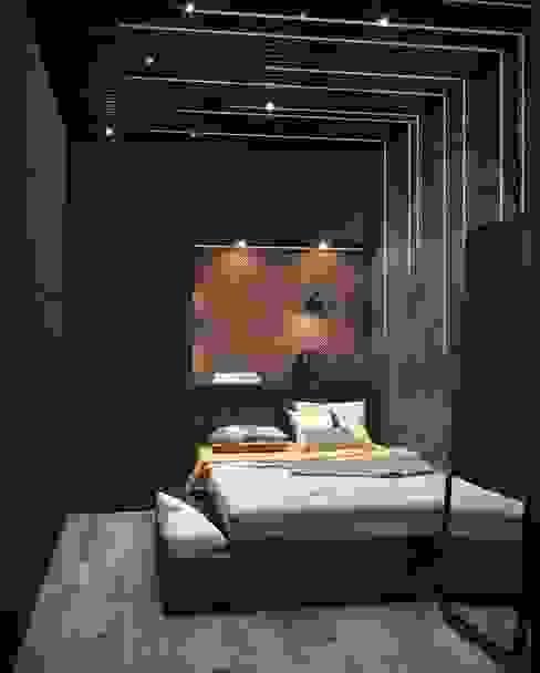 İç Mekan Tasarım Ahel Mimarlık Modern Yatak Odası