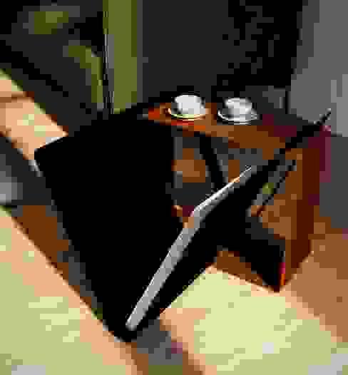 Join coffee table di Damiano Latini srl Minimalista Alluminio / Zinco