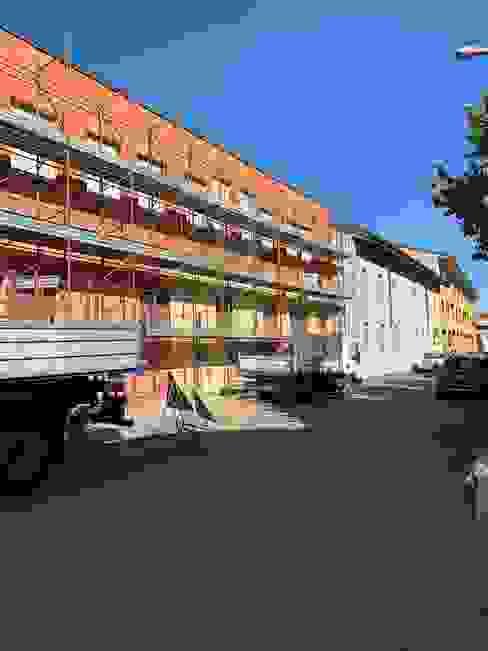 Installazione ponteggio facciate C.M.E. srl Condominio