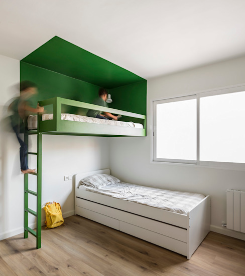 Home in Ciudad Universitaria tambori arquitectes Nursery/kid's room