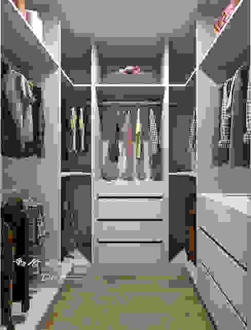 主臥/更衣間/收納空間/簡約風 木博士團隊/動念室內設計制作 臥室