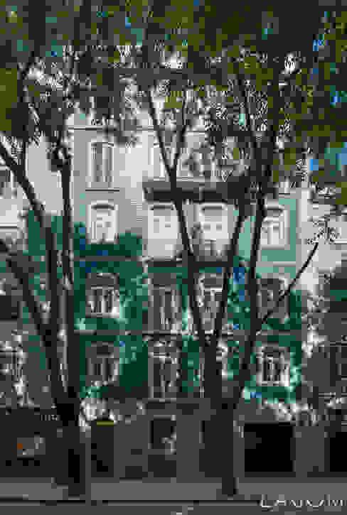 Fachada Lagom studio Casas modernas