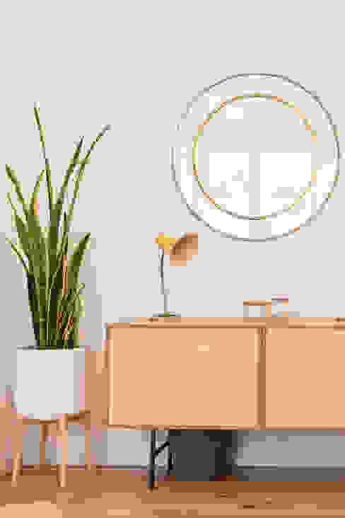 A Casa da Vizinha - Sala de estar Rima Design Salas de estar escandinavas