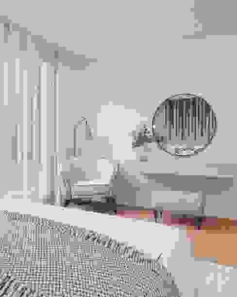 Vivenda - Santa Maria da Feira Angelourenzzo - Interior Design Quartos minimalistas