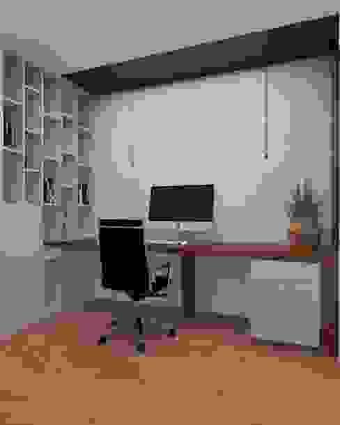 Vivenda - Santa Maria da Feira Angelourenzzo - Interior Design Espaços de trabalho minimalistas