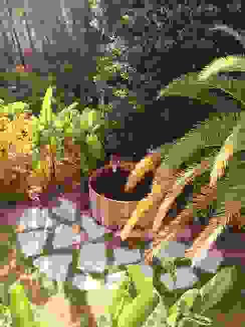 Jacuzzi de cedro para una espectacular casa en Ibiza CASÁRBOL Bañeras de hidromasaje Madera maciza